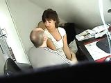 Hidden Camera Caught Mature Couple Fucking At Office