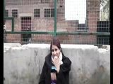 Chubby Exhibitionist Indian Girl Masturbates in Public Place