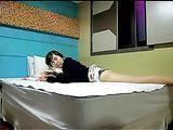 Korean Sex Video Amateur Couple Has Sex on the Bed