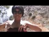 Black Woman Naked in Public Filmed on Video